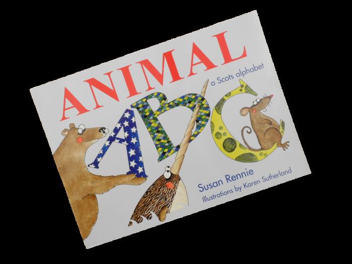 scottish scots animal abc book for children