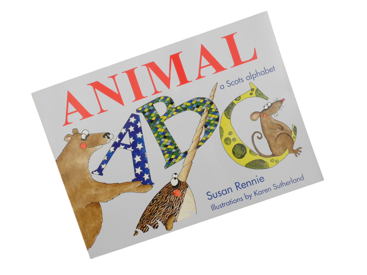 scottish scots animal abc book for children