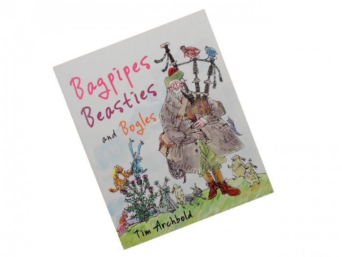 scottish book for children bagpipes, beasties, bogles