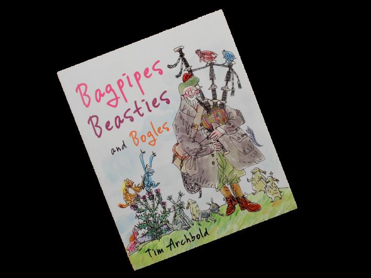 scottish book for children bagpipes, beasties, bogles