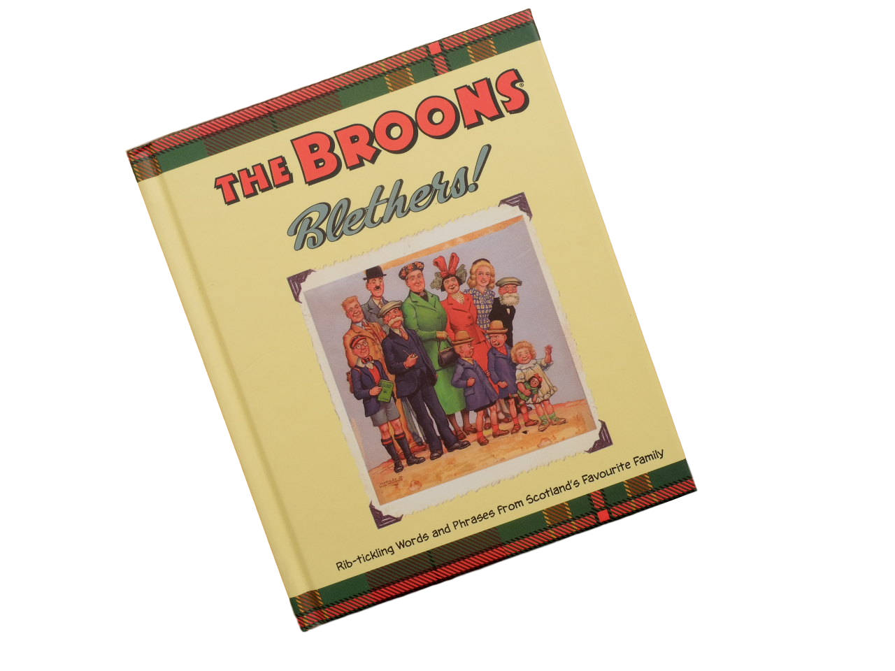 book Broons blethers humorous funny scots language