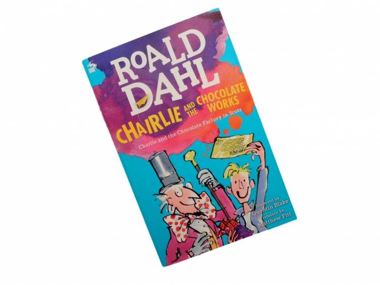 scottish book for children Charlie and the Chocolate Factory scots david walliams matthew fitt