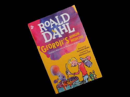 scottish scots language book for children geordie's mingin medicine