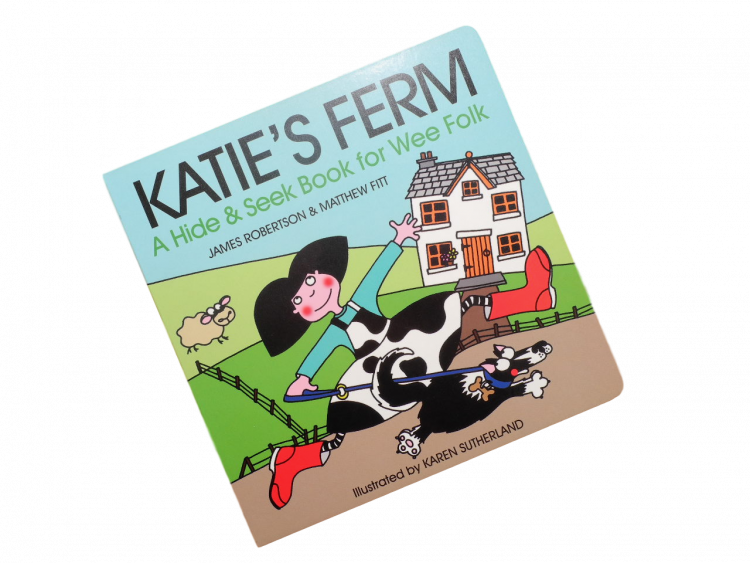scottish book for children katies ferm doric scots language matthew fitt james robertson