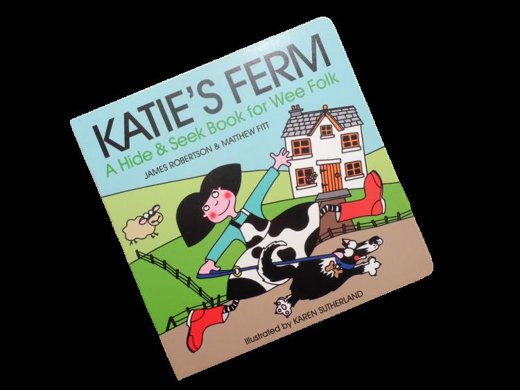 scottish scots language book for children katie's ferm