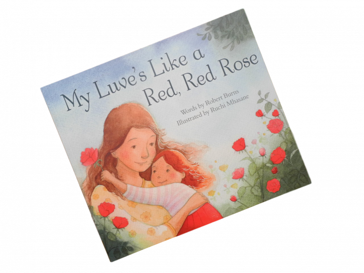scottish doric scots language book for children red rose robert burns
