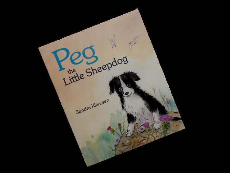 scottish book for children peg the little sheepdog