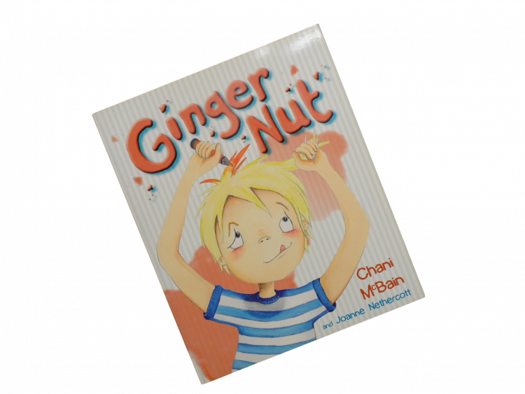 book for children red ginger haired boy