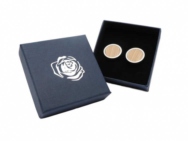men's gents' Scottish gift whisky barrel cuff links