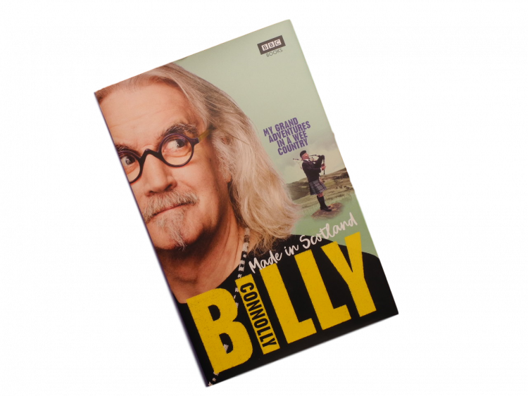 Scottish book Billy Connolly comedian, musician, presenter, actor