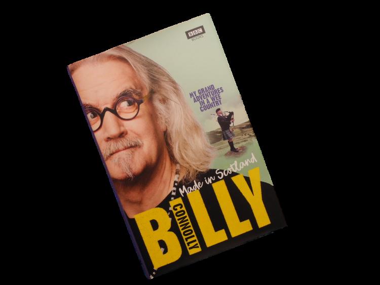 Scottish book Billy Connolly comedian, musician, presenter, actor