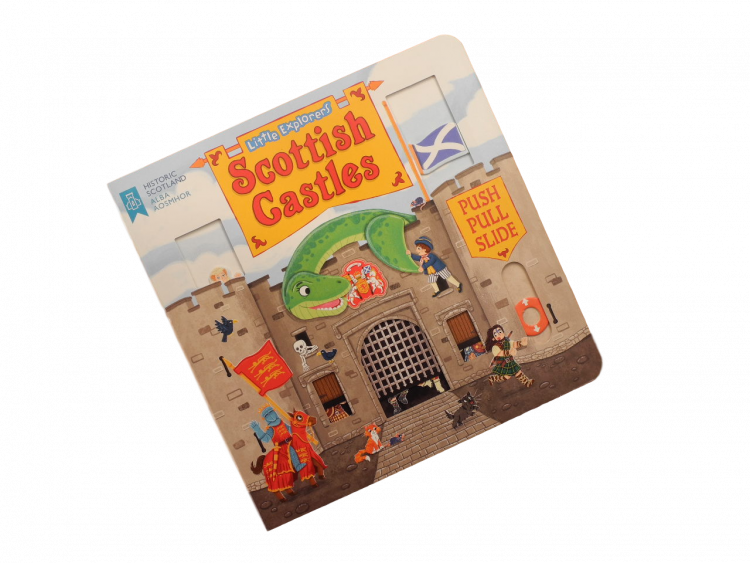 interactive scottish history children's book castles