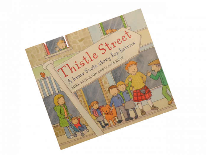 Scottish Scots language book for children