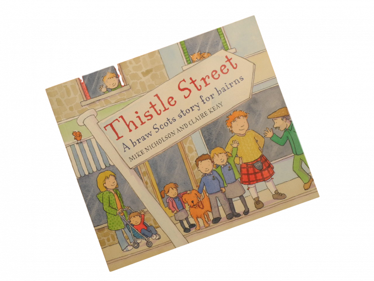 Scottish Scots language book for children
