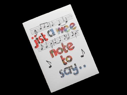 scottish open card tartan music doric scots language