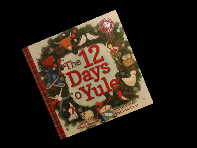 scottish scots language Christmas book for children 12 days o yule christmas