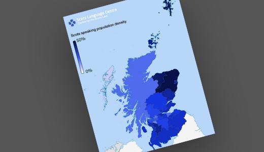 Scots Speakers Map