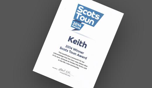 Scots Toun Keith 2014