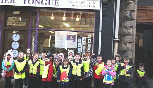 Primary School visit to Mither Tongue