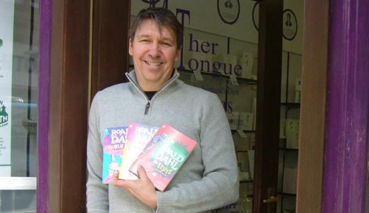 Matthew Fitt writer visit to Mither Tongue